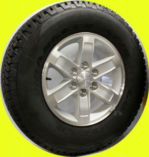 2007 2012 GMC Sierra Yukon 17 Aluminum Wheels Goodyear Tires New Take