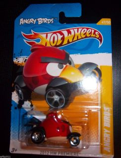 Angry Birds Red Bird 2012 Hot Wheels
