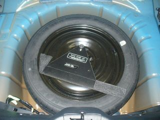 2012 2013 Ford Mustang Spare Tire Kit Tire Pre Mounted on Rim