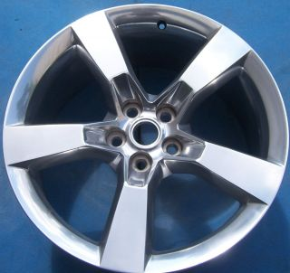 One 2010 2011 2012 Chevrolet Camaro 20 x9 Factory Wheel Rim Polished