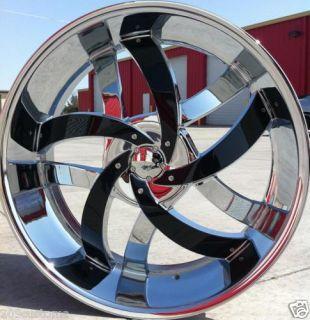 22 Velocity 825 Rims Tires 2007 2011 Silverado Lt