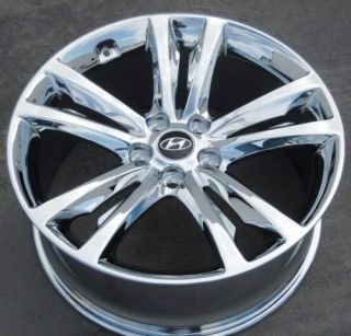 Hyundai Genesis Coupe Chrome Wheels Rims 2009 2011 Set of 4