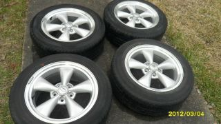 2001 2007 Ford Mustang GT Billet 17 inch Wheels Tires w Caps Included