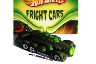 2008 Hot Wheels Wal Mart Halloween Fright Cars Fast Fortress