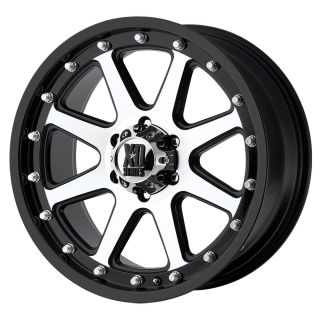 18 inch Black Wheels Rims KMC XD 798 Jeep Wrangler 2007 2012 Only 5x5