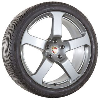 22 inch Porsche 2009 Cayenne S GTS Turbo rims wheels and tires package