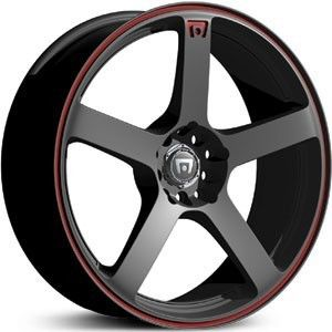 Motegi Racing MR116 Black Wheels Rims 4x100 40 Honda Civic CRX