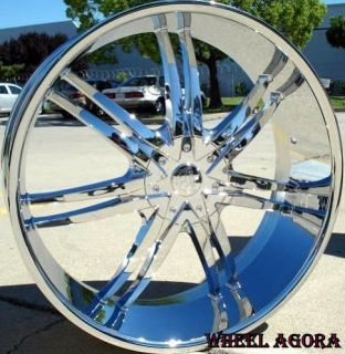 24 INCH RIMS WHEELS & TIRES B14 CAPRICE F 150 NAVIGATOR EXPEDITION