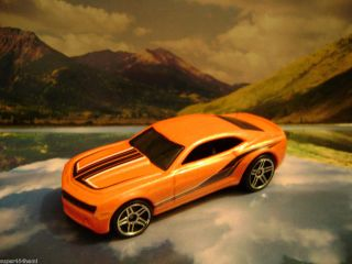 Chevy Camaro Concept 2008 Hot Wheels Web Trading Cars Series Orange