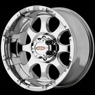 10 Moto Metal MO955 8x170 F250 F350 99 04 Chrome Wheels Rims