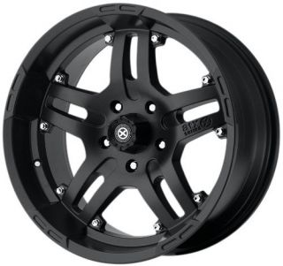 16 inch ATX Artillery Black Wheels Rims 5x135 Ford F150