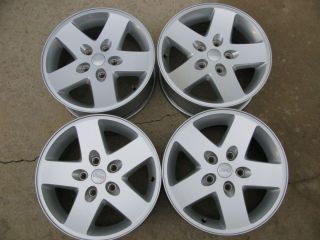 Set of 4 2007 2012 Jeep Wrangler Factory Rims 17