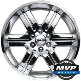 22 Chrome OE GM GMC Chevrolet Cadillac Wheels Rims CK919 New