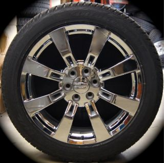 Silverado Tahoe Suburban Avalanche Chrome 22 Wheels Rims Tires CK375