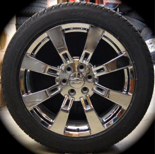 Silverado Tahoe Suburban Avalanche Chrome 22 Wheels Rims Tires CK375