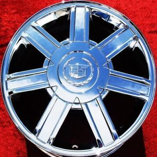 NEW 18 CADILLAC ESCALADE EXT ESV FACTORY OEM CHROME WHEELS RIMS 5303