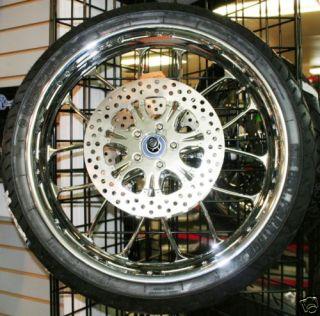 Chrome Wheels Tires 4 Harley Street Road Glide FLH Flt 09 12