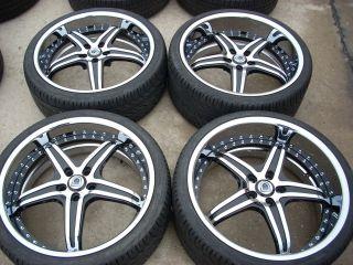 22 asanti AF144 Forged Wheels Tires Rims 09 13 BMW 750i 750LI 760LI