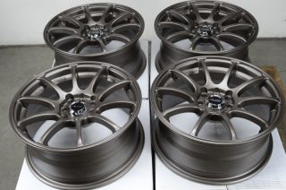 Bronze Rims Civic Accord CRX Yaris Jetta Passat CL 4 Lug Wheels