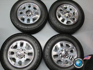 11 12 Chevy HD 2500 3500 Factory 18 Wheels Tires OEM Rims 8x180 5502