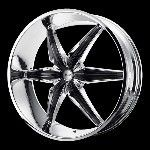 26 Inch Chrome Rims Wheels Chevy Truck Silverado 1500 Tahoe GMC Sierra