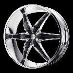 26 Inch Chrome Rims Wheels Chevy Truck Silverado 1500 Tahoe GMC Sierra