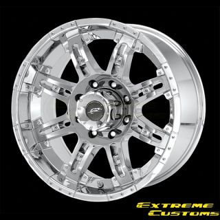 Dale Jr DJ6091 Cannon Chrome 5 6 8 Lugs Wheels Rims Free Lugs