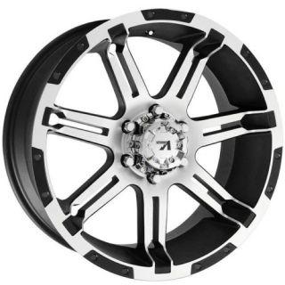 18x9 Vrock Overdrive Chevrolet Black Wheels 6x5 5 Rims