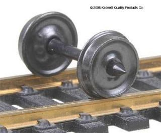Kadee 520 33 Metal Wheels Smooth Back for Freight Cars Pkg 12