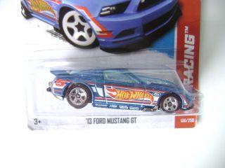 Hot Wheels 2013 13 Ford Mustang GT HW Racing B Case 106 250