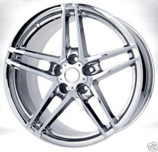 18x12 Chrome C6 C5 Z06 ZO6 Corvette Wheels Rims