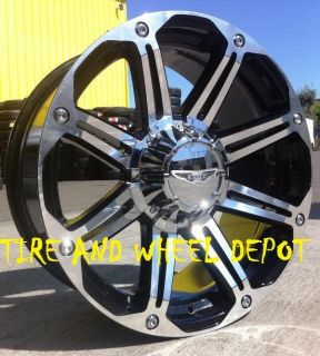 20 inch AE050 Rims Wheels and Tires Tahoe Escalade Sierra Navigator