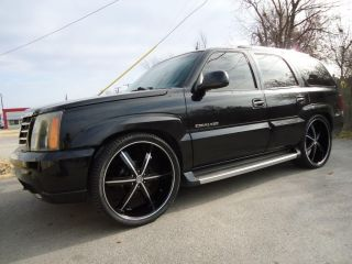 24 Wheels Rims Package Free Tires U2 55 Black Machined Deep Lip 6x139