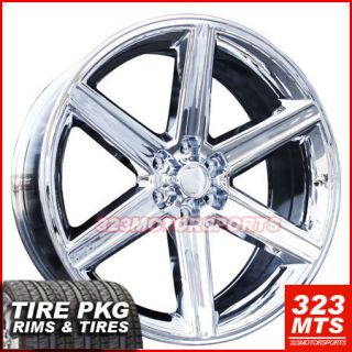 28 IROC Infiniti QX56 Sierra Yukon Wheels Rims Tire Pkg