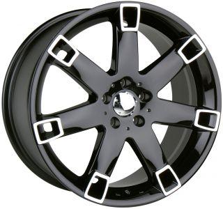 17 Black Wheels Rims Toyota Camry Avalon Venza Sienna Rav 4 5x114 3