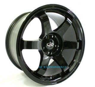 17 Rota Wheels 17x9 25 Grid BK G35 G37 370Z EVO 8 9 X