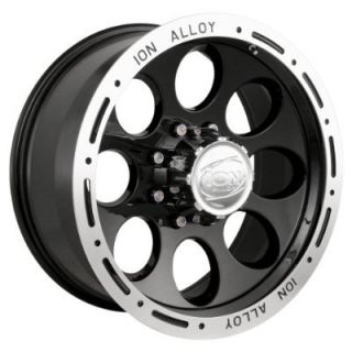 Ion 174 15x8 5x4 5 Jeep Ranger Black Wheels Rims New
