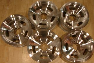 1976 OEM Jeep slot mag Aluminum Wheels Rims 5 Lug 5x5.5 15x7 CJ5 CJ7