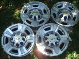 Chevy HD 2500 3500 17 Alloy 8 Lug Wheels Rims 07 08 10 GMC Silverado