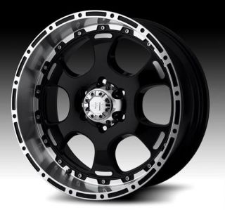 17 inch Helo HE842 Black Wheels Rims 5x4 5 Ford Ranger