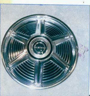 1965 Ford Mustang 14 wheel cover 65 NOS original hubcap FoMoCo part
