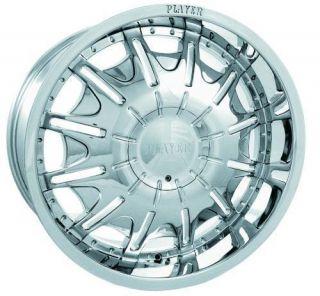 23 inch P904 Rims Tires 6 Lug Chevrolet Ford Lincoln