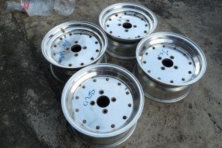 JDM SSR Speed Star Racing 15 Rims Wheels AE86 TA23 MK1 MK 1 Levin