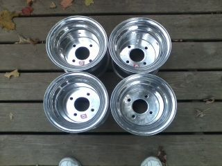 Douglas Wheels Set of Four Golf Cart Rims