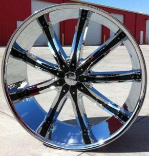 24 DW29 Wheels Rims Tires 5x120 BMW 740 750 745 Li 650 x5 Monte Carlo