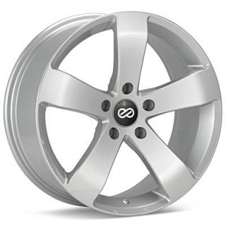 18 ENKEI GP5 SILVER RIMS WHEELS 18x8 +40 5x110 COBALT SAAB 93 TURBO 94