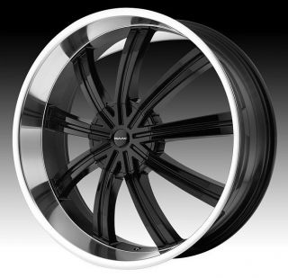 24 inch KMC Black Wheels Rims 6x135 Ford F150 Expedition Navigator 6