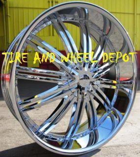 22 inch RSW99 Rims and Tires Suburban Yukon Denali Tahoe Avalanche