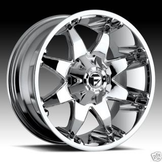 Octane Chrome XD Ford Chevy Dodge Truck Rims Wheels Tires