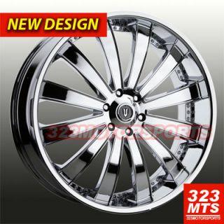 VE225C Dodge Magnum 5x115 Rims Wheels 5 Lug Chrysler 300C Rims